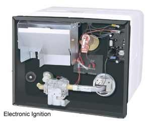 Atwood Mobile Products 96136 Electronic Direct Spark Ignition Water Heater with Heat exchanger - 6 Gallon