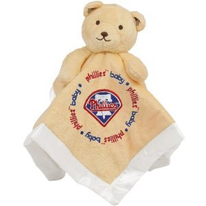 Baby Fanatic Philadelphia Phillies Security Bear Blanket, 14 x 14-Inch at Amazon.com