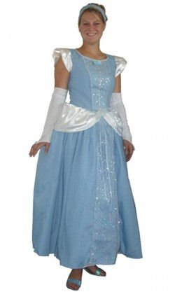 Making Believe Womens Storybook Deluxe Cinderella Costume Gown Prettier than Picture!