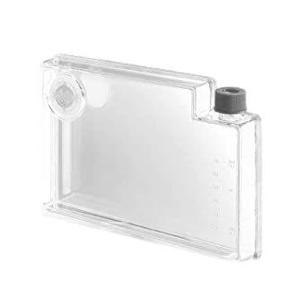 Corning 3069 Polystyrene 70mL Rectangular Robo Cell Culture Vessel For Automation with Bar Code and Septum Cap (Case of 50)