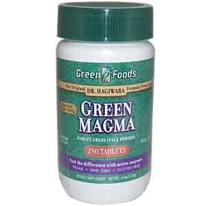 Green Foods Corporation  Magma, Barley 