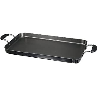 T-fal A9211404 Hard Enamel 18 X 10.75-Inch Double Burner Griddle