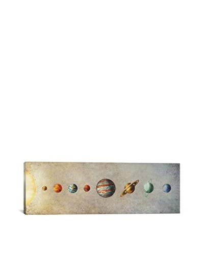 Terry Fan The Solar System Gallery-Wrapped Canvas Print