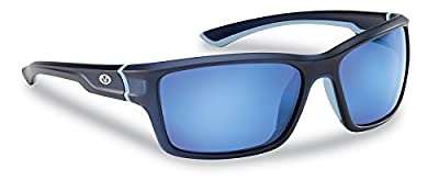 Flying Fisherman Cove Polarized Sunglasses with Matte Crystal Frames