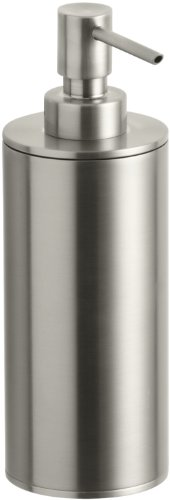 Kohler K-14379-BN Purist Countertop Soap Dispenser (Vibrant Brushed Nickel)