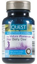 For Mature Women 50+ Her Daily One-90 caps Brand: Quest
