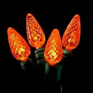 70 Orange Indoor/Outdoor Halloween Lights