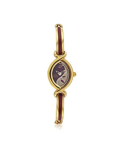Titan Women's 2251YM23 Raga Jewelry Inspired Gold-Tone Watch