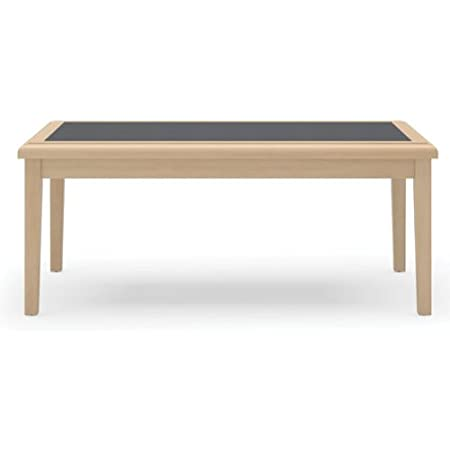 Savoy Series Coffee Table Base Finish: Natural, Top Finish: Charcoal Matrix