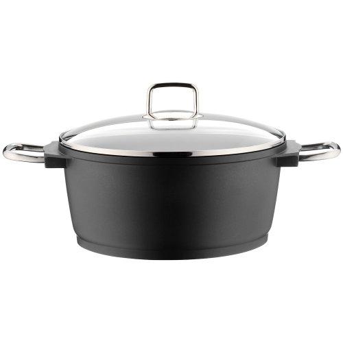 WMF Bueno non stick cast aluminium high casserole 28cm/6.0ltr
