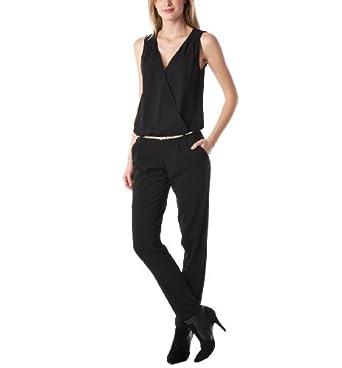 promod eleganter overall schwarz 38 bekleidung. Black Bedroom Furniture Sets. Home Design Ideas