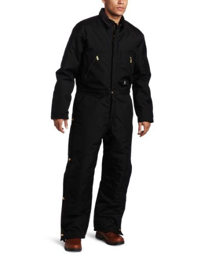 Carhartt Men's Yukon Coveralls, Black, 40