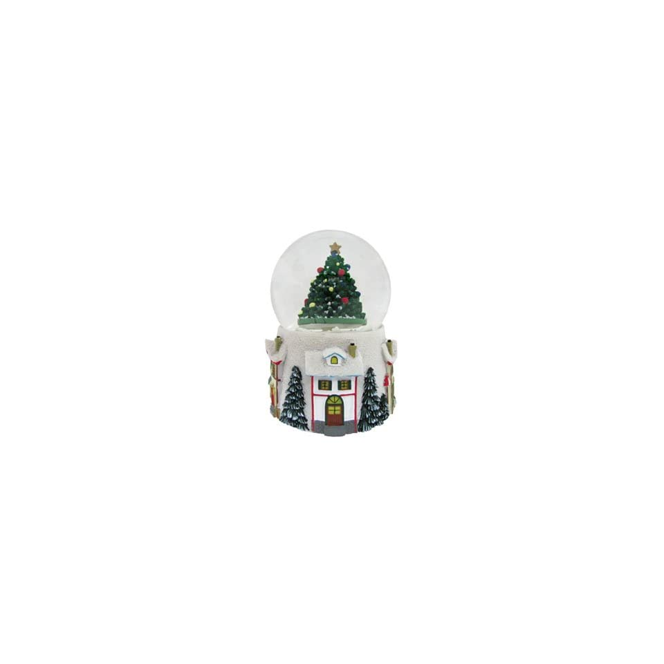 Medium Tree Snow Globe Christmas Ornament
