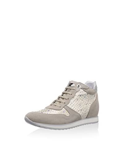 Andrea Morelli Sneaker Zeppa [Beige]