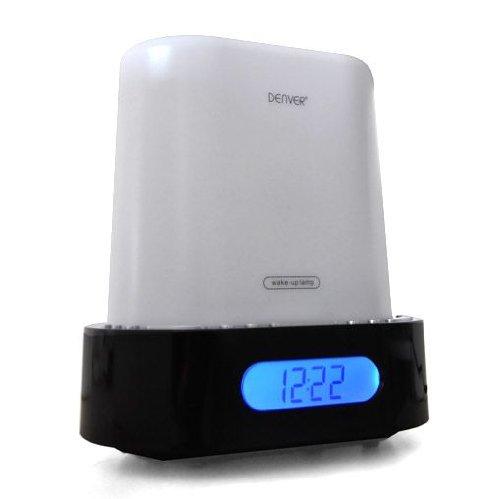 Denver CRL-290 Aufwachlicht Uhrenradio Wecker Sound