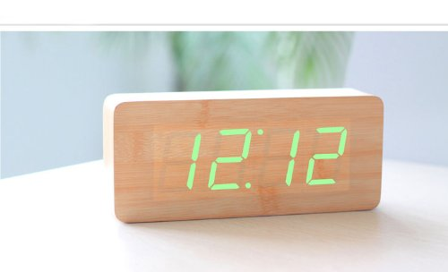 kabb-bamboo-grain-green-led-light-alarm-clock-time-temperature-and-date-sound-control-latest-generat