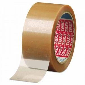 """Tesa Tapes Carton Sealing Tapes 2""""x55y Biaxially Oriented Polypro Clear Carto"""