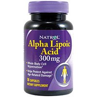 海外直送品Natrol Alpha Lipoic Acid, 50 Caps 300 MG