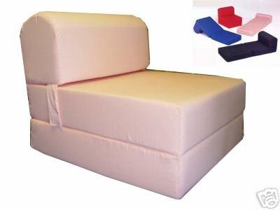 Ordinaire Peach Sleeper Chair Folding Foam Bed Sized 6