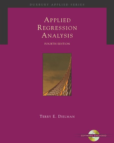 Applied Regression Analysis: A Second Course in Business...
