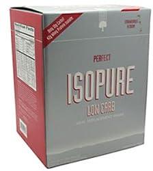 パーフェクトIsopure低炭水化物の一食置換え用シェイク ストロベリークリーム