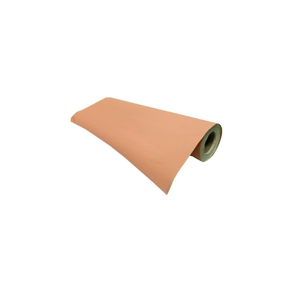 The Gift Wrap Company Solid Coordinates Kraft Collection Half Ream Gift Wrapping Paper, Peach, Cantaloupe, 30 Inch x 417 Feet