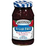 Smucker's Sugar Free Red Raspberry Preserves 12.75 oz