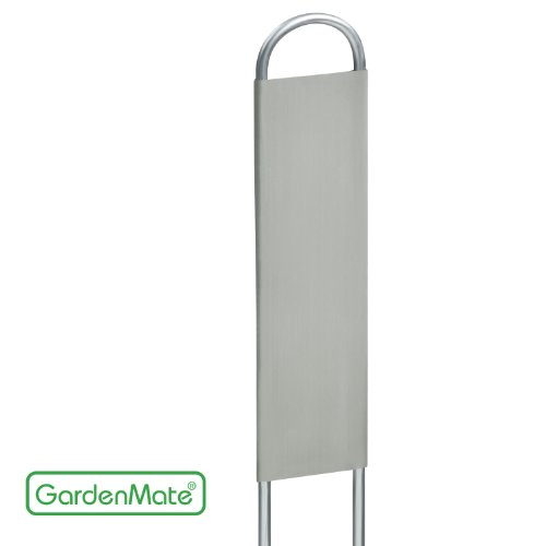 gardenmater-vertiko-lot-de-25-marque-plantes-en-acier-galvanise-metal-zinc