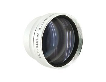 1337T-R 37Mm 2X Professional High Speed Auto Focus Deluxe Super Telephoto Lens (Silver)