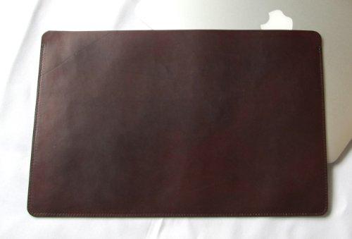 MacBook Air 11インチ オイルヌメ牛本革ケース 焦茶