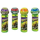 One Teenage Mutant Ninja Turtles Bubble Solution with Wand Michelangelo