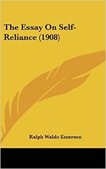 essay on self-reliance