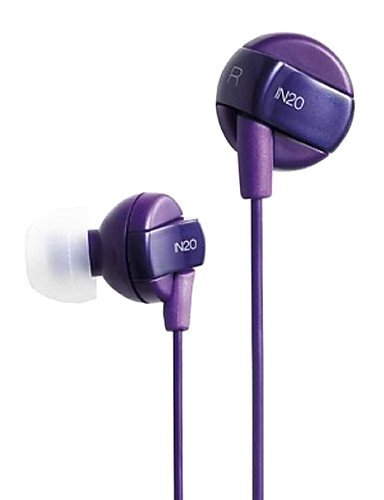 IN20 In-Ear-Kopfhörer für Tablet / Mediaplayer , white