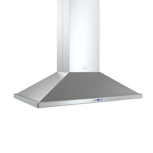 Zephyr Zna-E42Bs 715 Cfm 42 Inch Wide Island Range Hood With Dcbl Suppression Sy, Stainless Steel