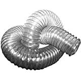"""4"""" x 50' CLEAR SUPER FLEX HOSE By Peachtree Woodworking - PW381"""