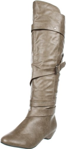 Madden Girl Women's Zippedd Wedge Boot