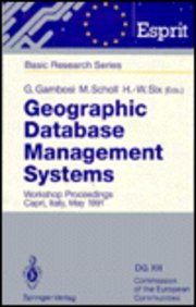 Geographic Database Management Systems