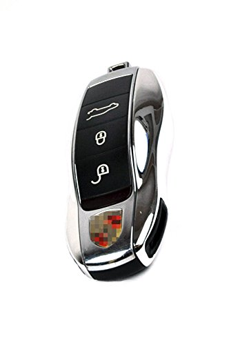 SMPI Porsche Painted Key Remote Trim Cayenne Panamera Carrera 981 991 958 970 911: Chrome