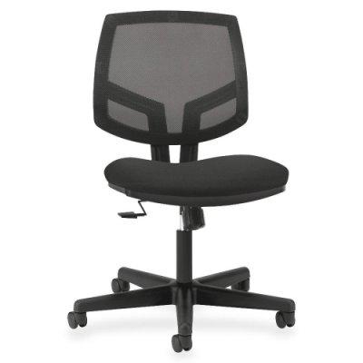 HON Volt Mesh Back Task Chair with Synchro Tilt for Office or Computer Desk, Black