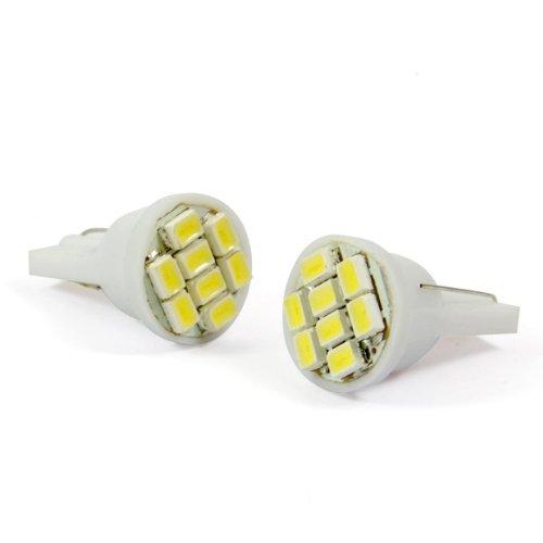 2 Pcs Led 8 Smd Indicator Interior Signal Light Lamp Bulb Wedge Super Bright