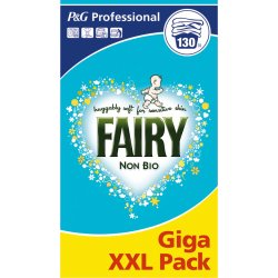Fairy Non Bio Washing Powder 130 Scoop Giga Pack XXL Professional Fast Postage