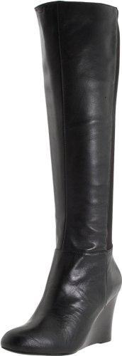 Michael Michael Kors Women'S Bromley Wedge Boot,Black,7 M Us