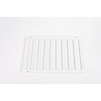 Step Over Gate Extension In White front-766991