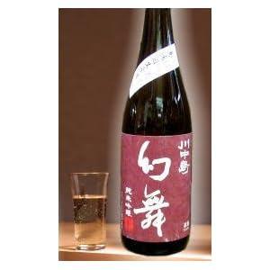 長野地酒 川中島 幻舞純米吟醸無濾過生原酒720ml