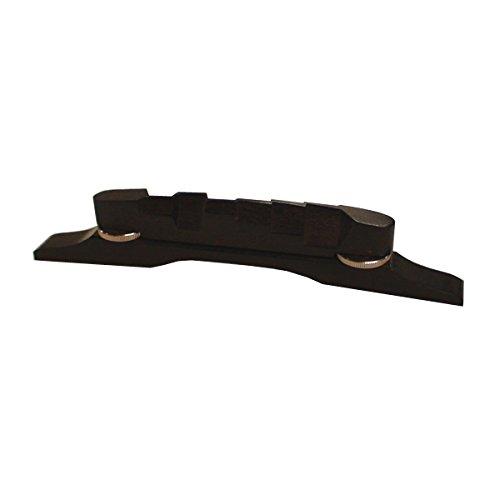 Tyler Mountain Adjustable Ebony Guitar Bridge Staggered Saddles 106E