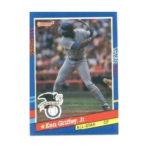 87a8f301ce 1991 Donruss #49 Ken Griffey Jr All Star on PopScreen