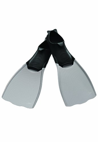 Speedo Power Fin, Grey/Black, X-Large