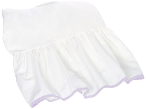 Baby Doll Unique Crib Dust Ruffle, Lavender