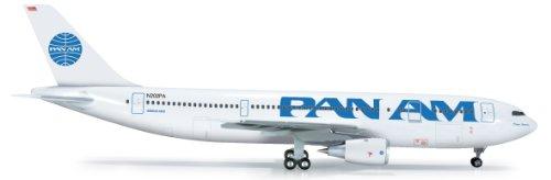 herpa-wings-1-200-a300b4-modellino-aereo-pan-american-airlines-clipper-america-importato-da-giappone