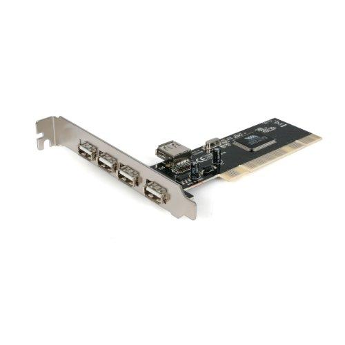 StarTech.com 4 Port PCI High Speed USB 2.0 Adapter Card